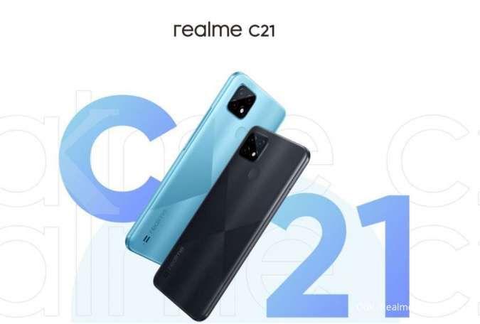 Harga HP Realme C21 hanya Rp 1,6 jutaan, resmi meluncur di Indonesia