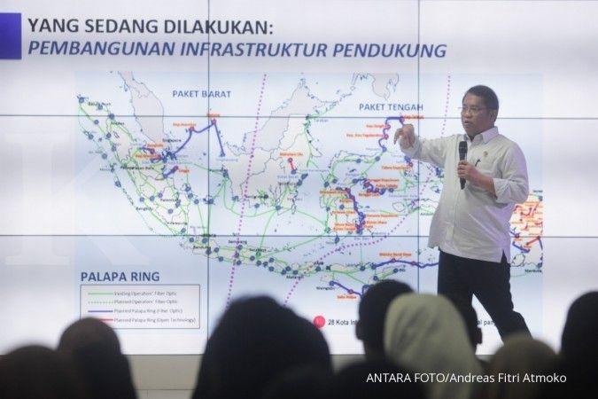 Menkominfo akui pembangunan jaringan internet di Indonesia belum merata
