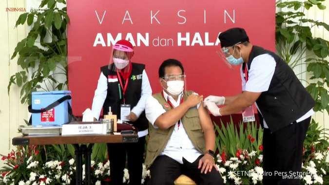 16 Daftar pertanyaan yang harus dijawab saat vaksinasi Covid-19