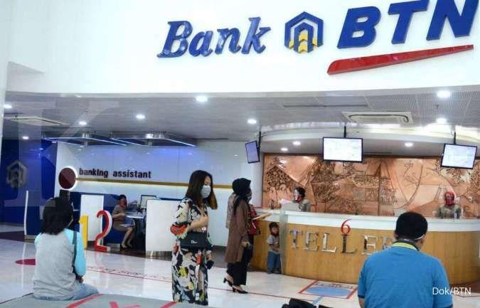 Masih positif, laba Bank BTN naik 39,72% di kuartal III 2020