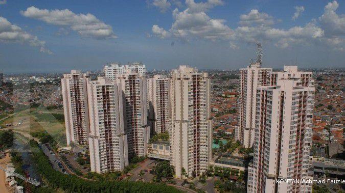 Rata-rata harga jual apartemen di Jakarta sekitar Rp 35 juta per meter persegi