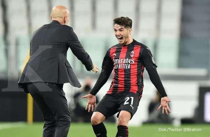 Hasil laga Juventus vs Milan di Liga Italia Serie A