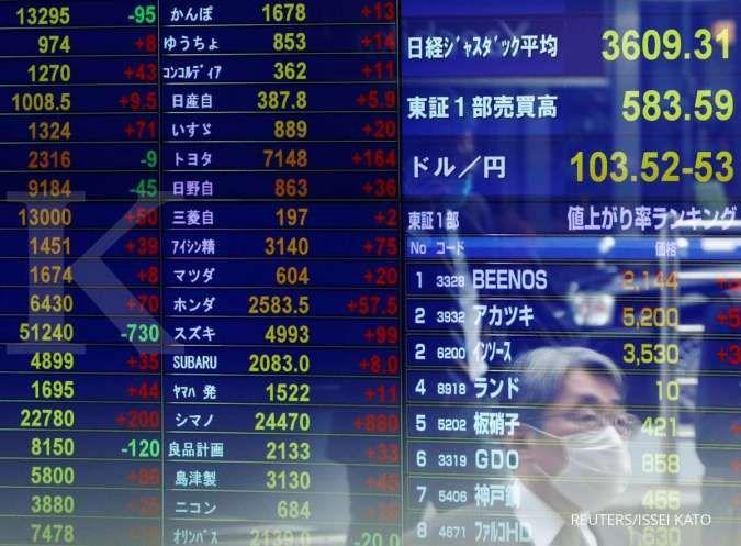 Menanti data manufaktur China, Bursa Asia menguat di pagi ini (2/8)