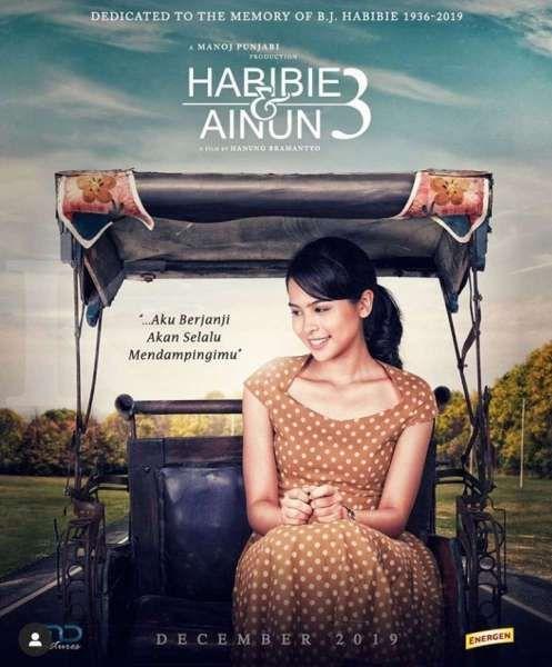 Trailer official Habibie & Ainun 3 bisa ditonton di Youtube