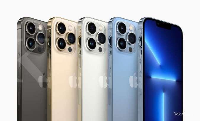 Siap dipasarkan, ini spesifikasi iPhone 13 Pro dan Pro Max, harga belum naik