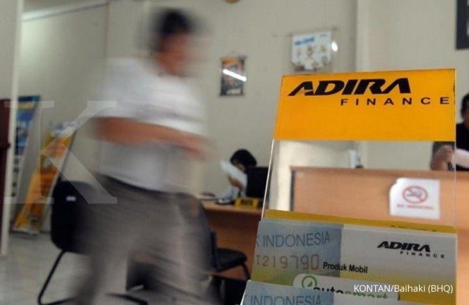 Permintaan otomotif meningkat, pembiayaan Adira Finance ikut terkerek