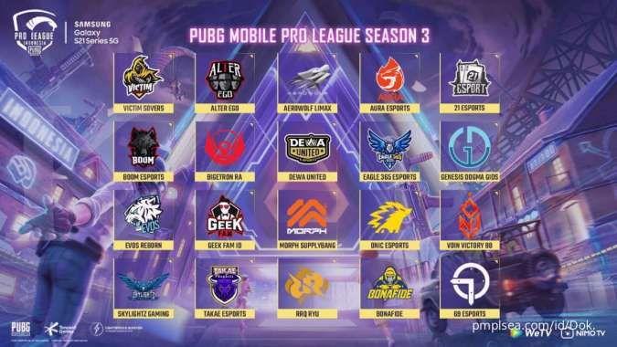 PUBG Mobile PMPL ID Season 3