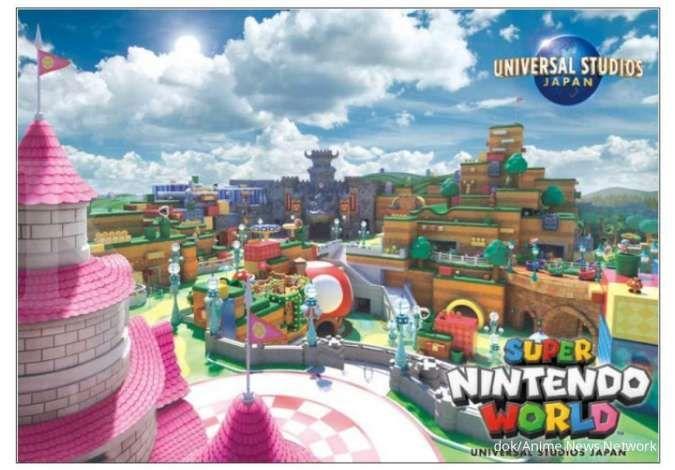 Asik! Super Nintendo World Universal Studio Jepang siap di buka awal Februari 2021