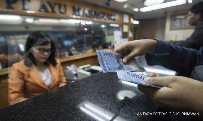 Rupiah masih rentan terserang aksi profit taking