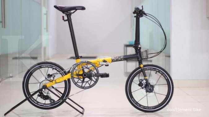 Baru! Ini harga sepeda lipat Element Troy X 10 edisi B2W Batik yang dirilis pekan ini