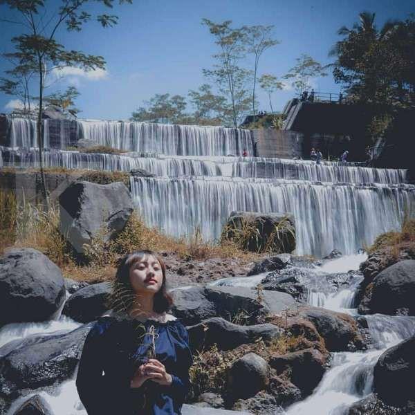Grojogan Watu Purbo Yogyakarta, air terjun yang punya enam tingkatan