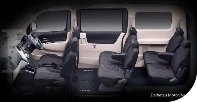 Harga mobil bekas Daihatsu Luxio (Interior)