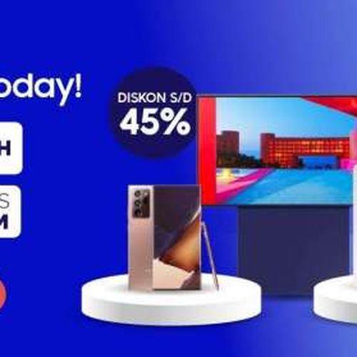 Samsung Sajikan Keuntungan dan Kenyamanan Lebih bagi Konsumen Asia Tenggara Bersama Shopee Dalam Samsung Brand Day 2021