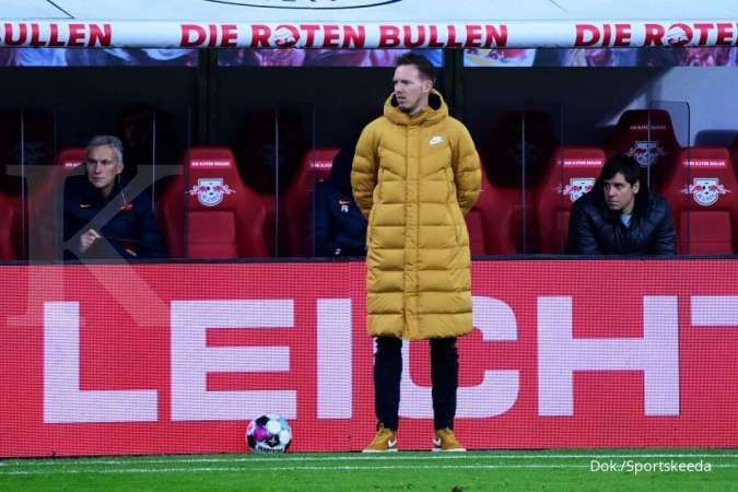 Julian Nagelsmann, calon kandidat pelatih pengganti Frank Lampard di Chelsea