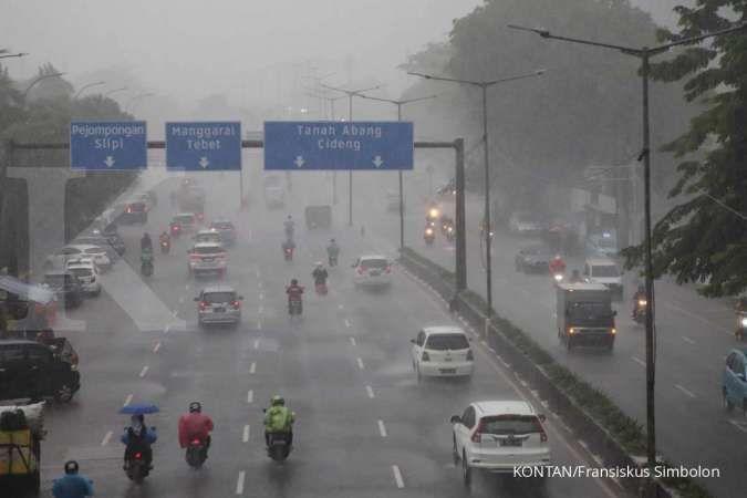 BPBD DKI rilis peringatan waspada potensi cuaca ekstrem di Jakarta pada 15-16 April