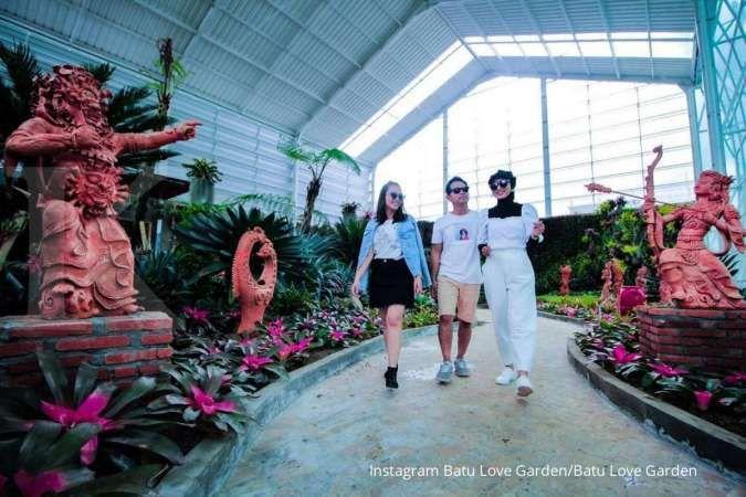 Rekomendasi tempat wisata hits terbaru di Kota Batu, ada Batu Love Garden