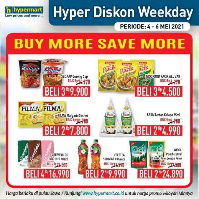 Terbaru! Promo Hypermart weekday 5 Mei 2021, ada program Hyper Diskon