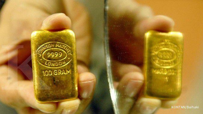 Emas terus turun terimbas spekulasi The Fed rate