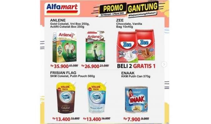 Promo Alfamart Gantung 26 Februari-4 Maret 2021
