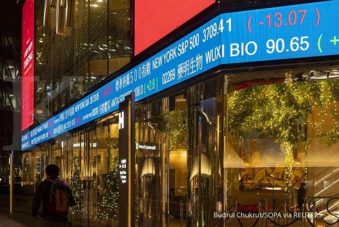 Kekhawatiran terhadap inflasi AS mulai reda, bursa Asia ditutup menghijau