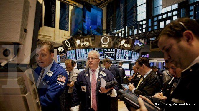 Bursa AS tertekan penurunan harga komoditas