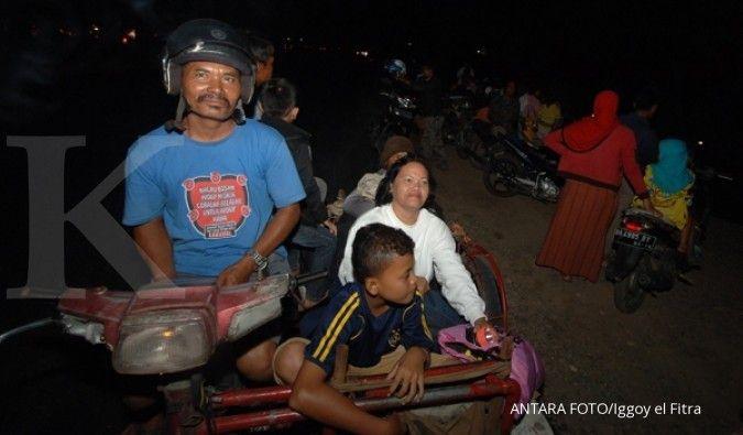 Tidak ada informasi korban gempa Sumatera