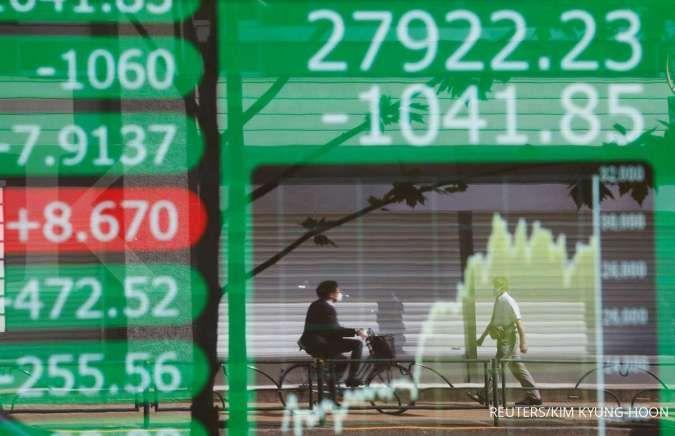 Bursa Asia menguat berjamaah pada Kamis (22/7)