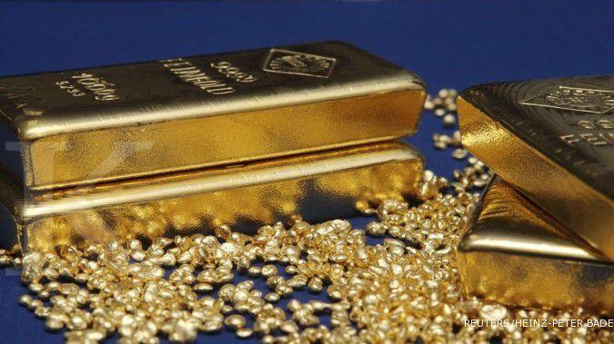 Harga emas bikin gemas