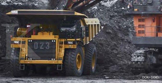 Volume produksi batubara dan overburden Delta Dunia Makmur (DOID) naik di Juni 2021