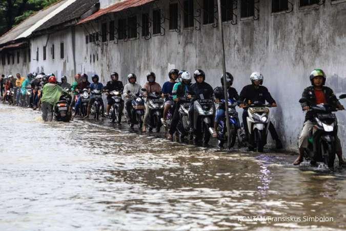 Daftar 32 ruas jalan di Jakarta yang terendam banjir pagi ini