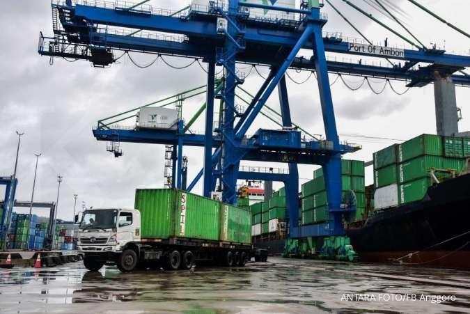Kontainer di pelabuhan langka, pengamat: Mengakibatkan pembiayaan ekspor membengkak