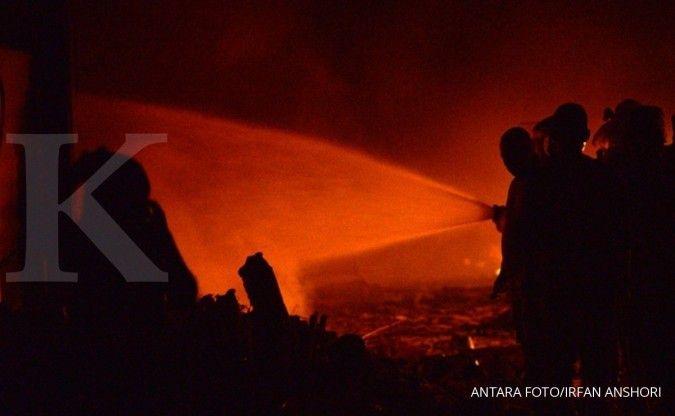 Waduh, kantor pajak Cikarang terbakar