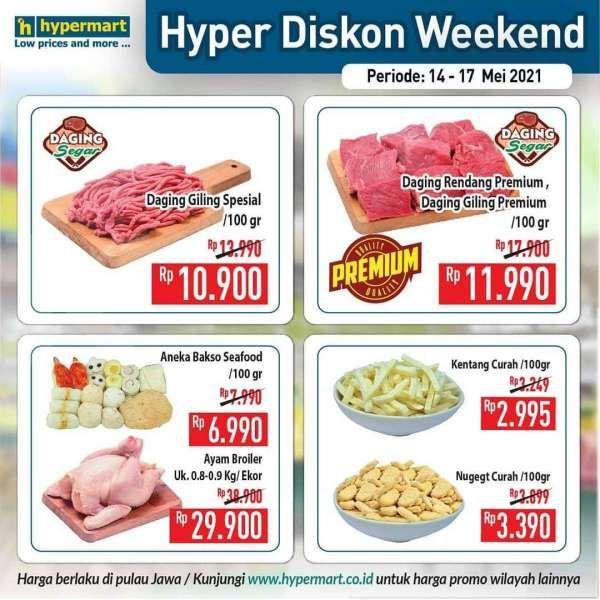 Cek promo JSM Hypermart 16 Mei 2021, masih ada program Hyper Diskon Weekend!