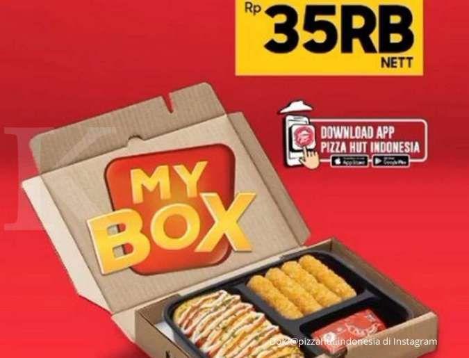 Promo Pizza Hut 22 September, pilih 45 macam kombinasi hanya dengan Rp 35.000 saja