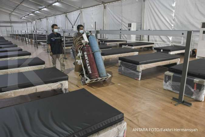 Kasus COVID-19 mingguan Indonesia turun, kini di peringkat 3 dunia