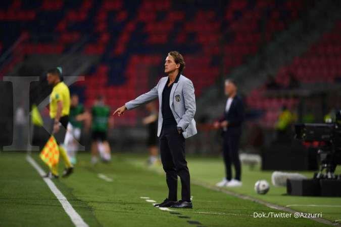 Tak muluk-muluk, Roberto Mancini ingin skuad Italia tembus semifinal Euro 2021
