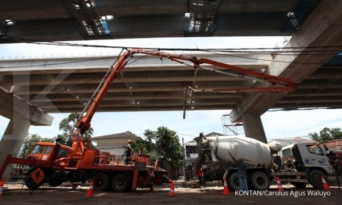 Pembukaan lelang jalan tol Rp 142 triliun dorong kenaikan saham emiten konstruksi ini
