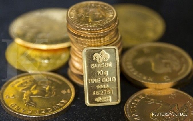 Meredanya kekhawatiran Brexit kian menekan emas