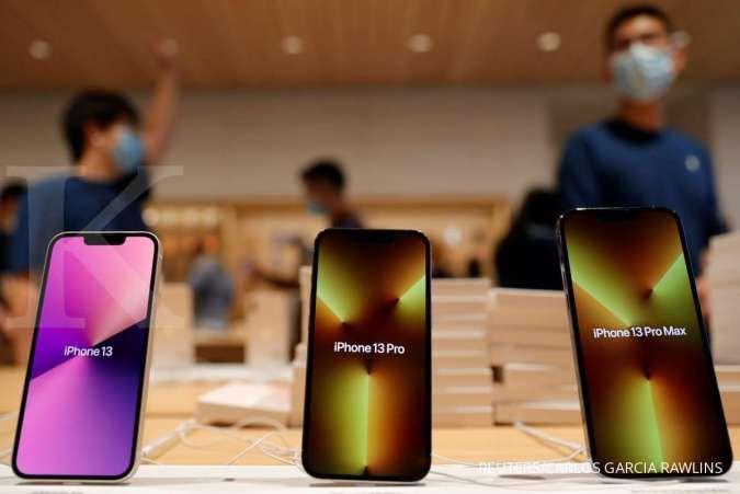 Apple akan memangkas target produksi iPhone 13