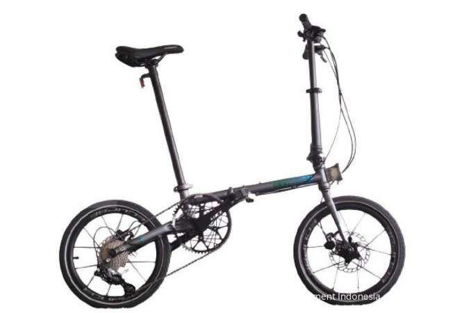 Asik diskon masih berlaku! Harga sepeda lipat Element Troy X 9SP ramah di kantong