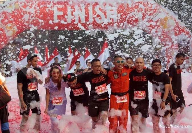 Di tengah isu virus corona, 1.200 pelari ramaikan MaHe Run
