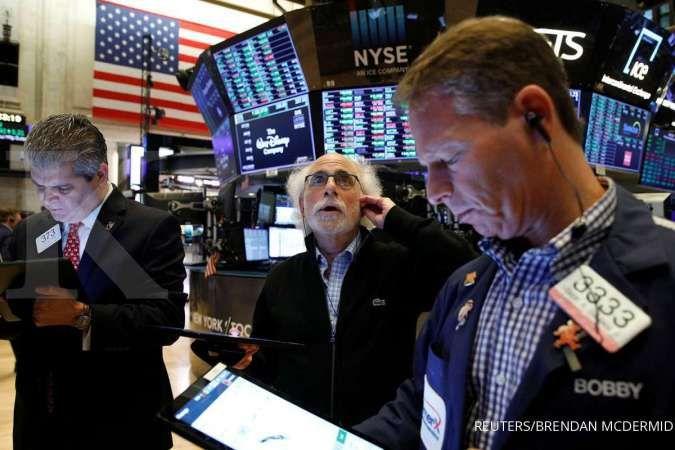 Pemicu bursa saham AS turun tajam pada perdagangan akhir pekan ini