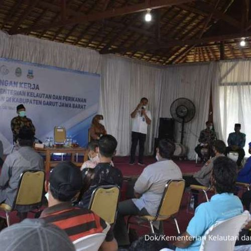 Bakti Nelayan di Garut, KKP: PNBP Perikanan Tangkap Sejahterakan Nelayan