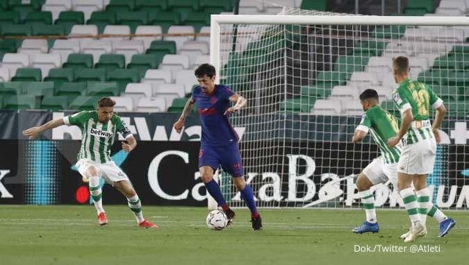 Hasil Real Betis vs Atletico Madrid di La Liga Spanyol
