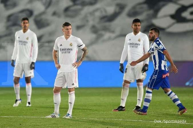 Toni Kroos saat bermain bersamaReal Madrid
