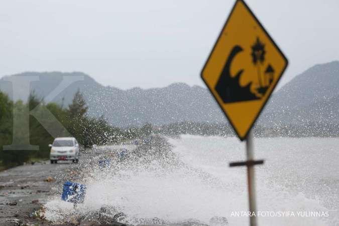 Ada potensi tsunami setinggi 28 meter di Pacitan, estimasi tiba 29 menit