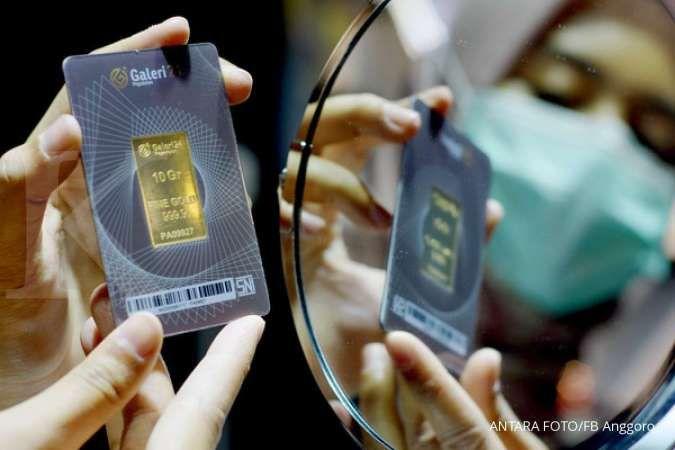 Harga emas siang ini di Pegadaian, Kamis 1 April 2021