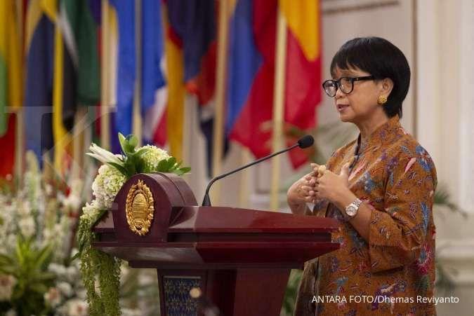Bahas gesekan China dengan AS, Menlu Retno: Jangan libatkan kami