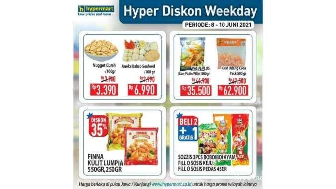 Hyper Diskon! Ini dia promo Hypermart weekday 10 Juni 2021