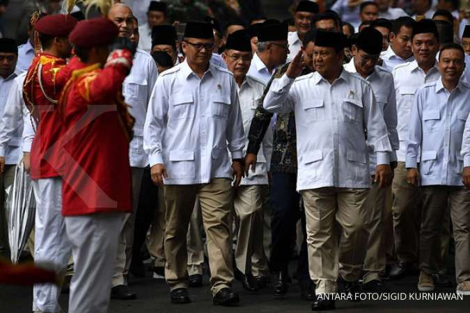 Prabowo tak pernah lagi bicara politik sejak jadi menteri, ini alasannya